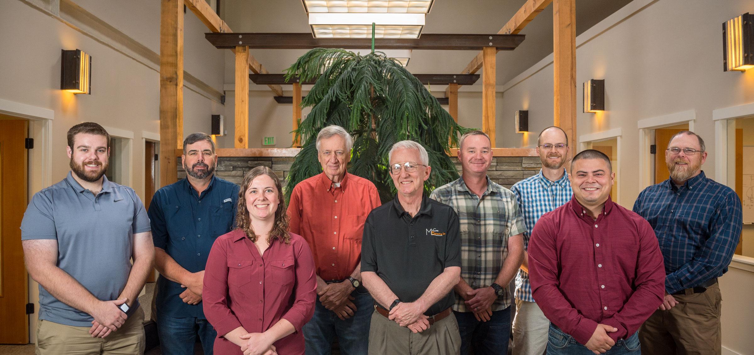 McGee Engineering Staff