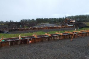 Forming for Bridge Sill
