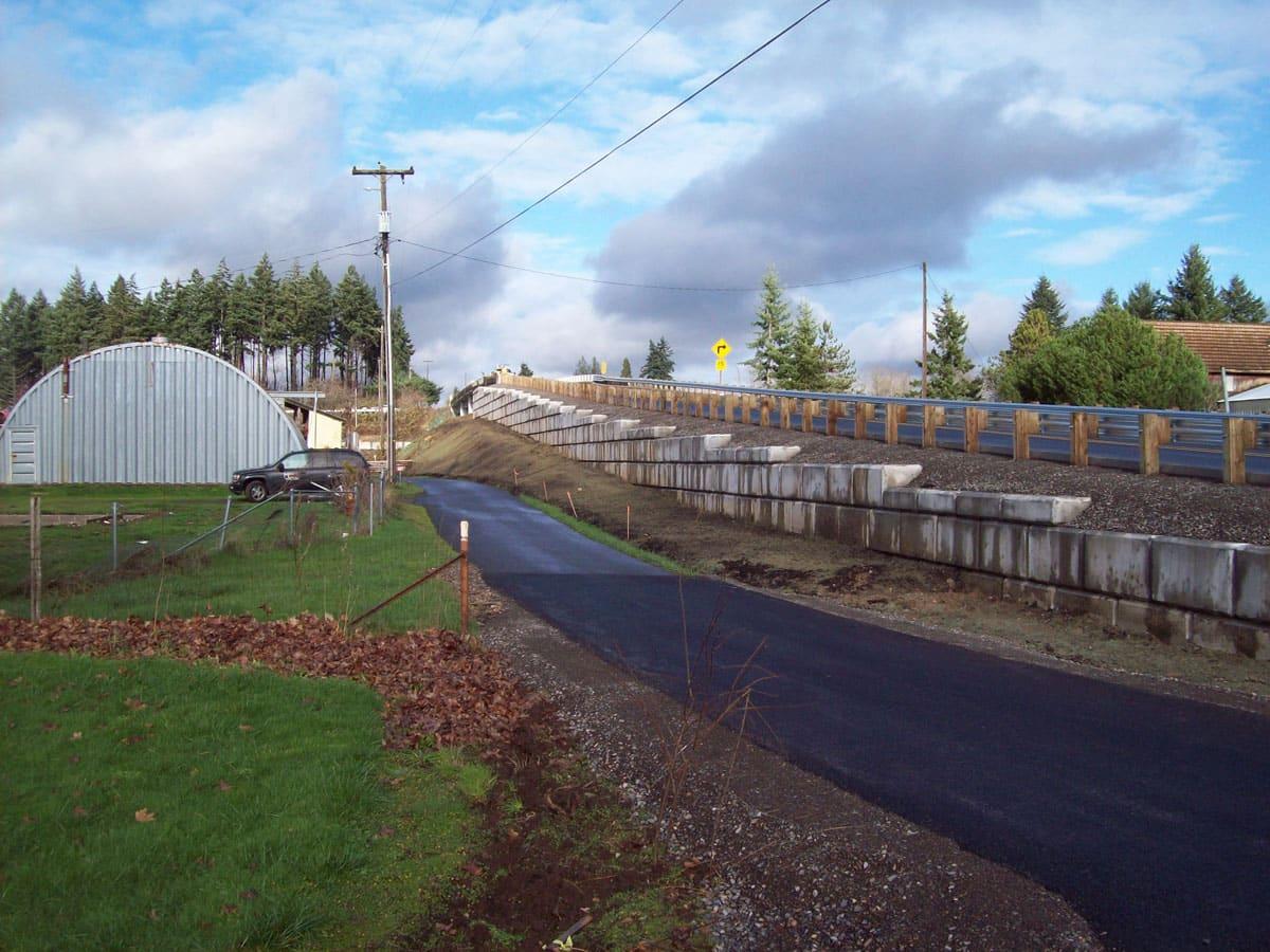 Albus Road Retaining Wall