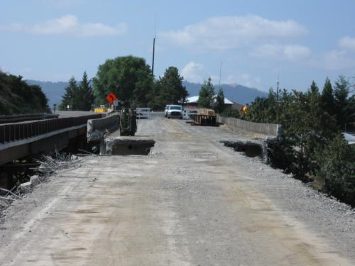 Brown Bridge Demolition