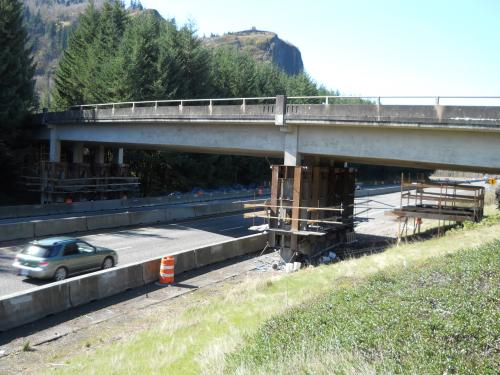 I-84: Rooster Rock Park Connector Vertical Clearance Improvement Project