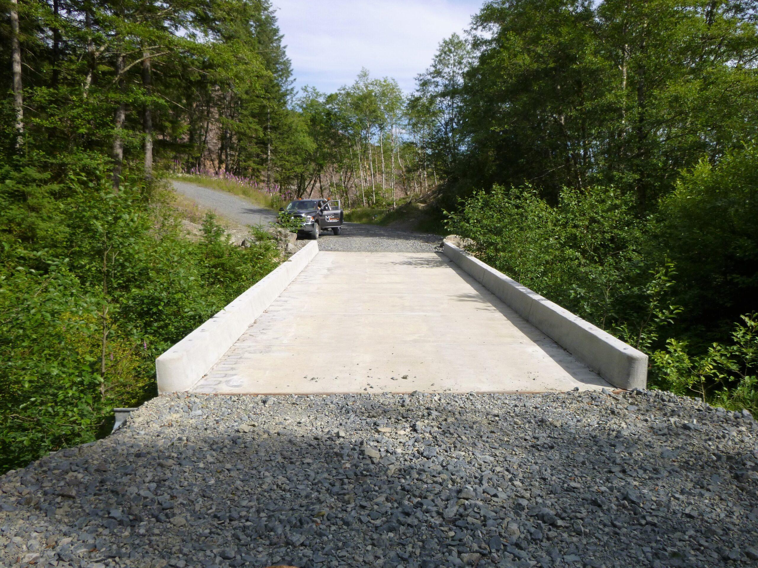 Wild Boy Creek Bridge Deck Replacement